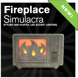 fireplace simulacra